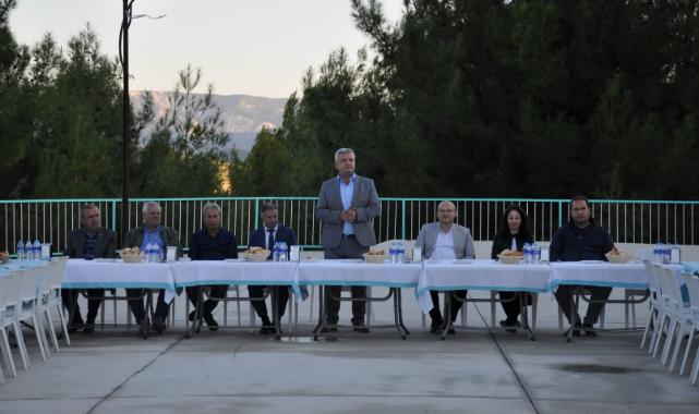 Ermenek Belediye Başkanı Zorlu Muhtarlarla Bir araya Geldi