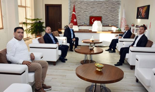Genel Başkan Yardımcısı Karaman'dan İl Millî Eğitim Müdürlüğüne Ziyaret