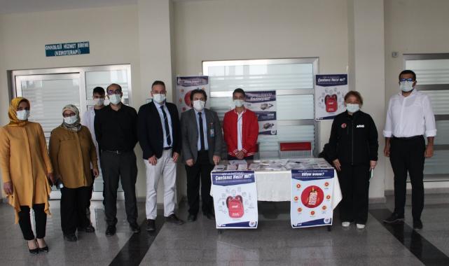 Hastanede AFAD Farkındalık Standı Açıldı