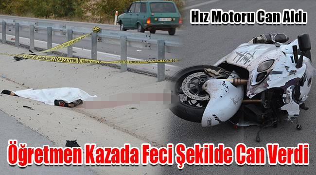 Karaman'da öğretmen kazada feci şekilde can verdi