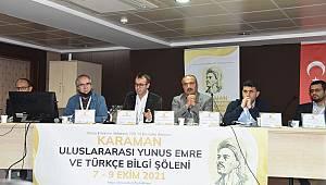 'Karaman Uluslararası Yunus Emre Ve Bilgi Şöleni' Büyük İlgi Gördü