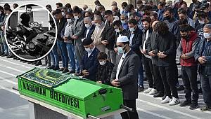 Kazada ölen Ahmet Raşit öğretmene acı veda!