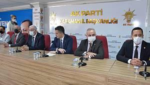 AK Parti İl Başkanlığını ziyaret eden Tarım ve Orman Bakanı Pakdemirli: 2023 bana göre Türkiye'nin en önemli seçimlerinden biridir