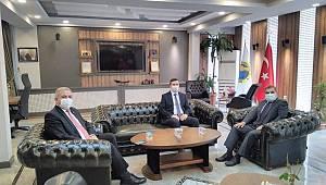 Vali Mehmet Alpaslan Işık İade-İ Ziyaretlerde Bulundu