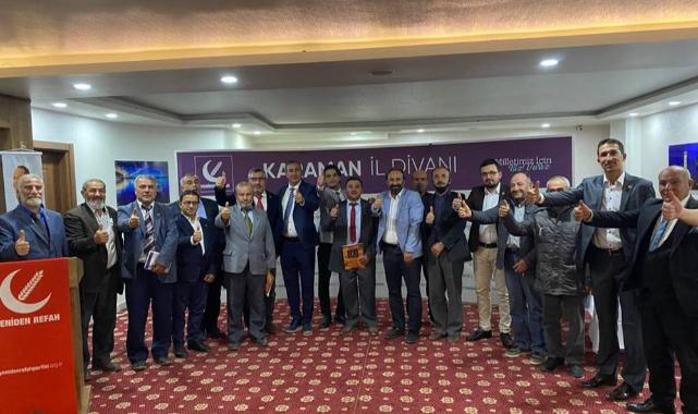Yeniden Refah Partisi Ekim ayı İl Divan Toplantısı yapıldı