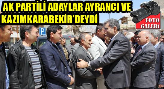 Ak Partili Adaylar Ayrancı Ve Kazımkarabekir'deydi