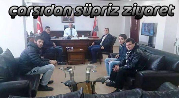Beşiktaş Çarşı Grundan Emniyet Müdürüne Sürpriz Ziyaret