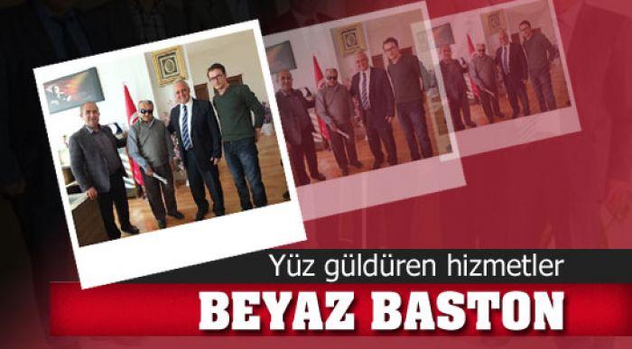 BEYAZ BASTON