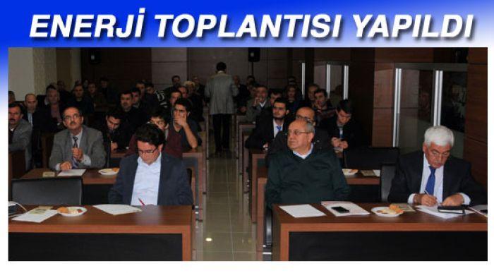 BİLGİLENDİRME TOPLANTISI YAPILDI