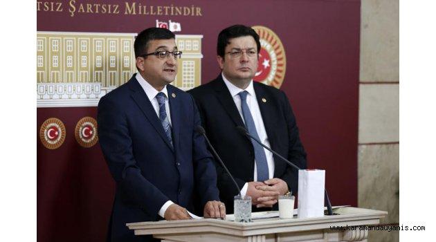 CHP'Lİ ÖZ'DEN 'ELMA' ÖNERGESİ