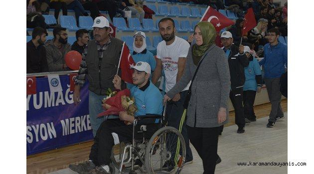 ENGELLİLER SPOR ŞÖLENİ..