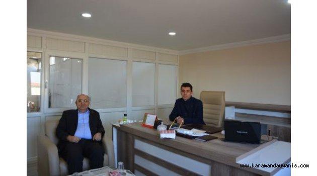 EWEL BOYA FABRİKASI'NI ZİYARET ETTİ