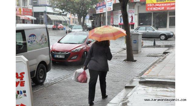 KARAMAN'DA HAVALAR SOĞUDU