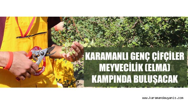 MEYVECİLİK KAMPI..