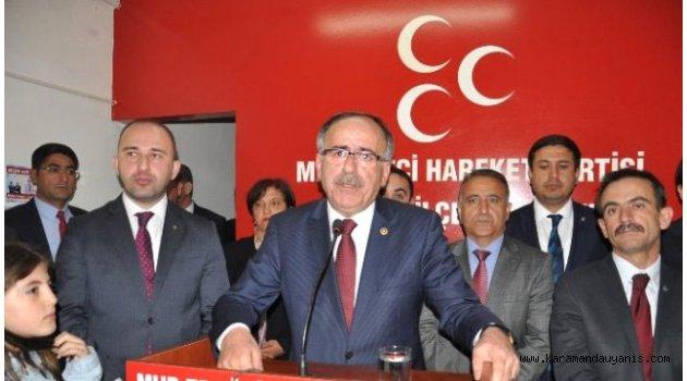 """""""MUHTARLARIN SORUNLARI ÇÖZÜLMELİ"""""""