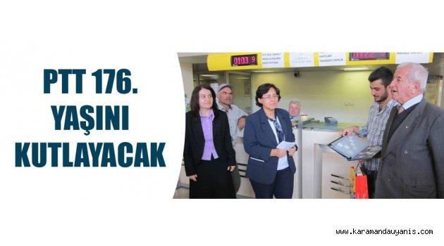 PTT 176. YAŞINI KUTLAYACAK