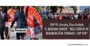 CUMHURİYET HALK PARTİSİ 93 YAŞINDA