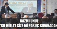 AK PARTİ DANIŞMA MECLİS TOPLANTISI