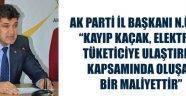Ak Parti Karaman İl Başkanı Nazmi Ünlü..