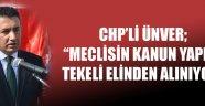 CHP İl Başkanı İsmail Atakan Ünver