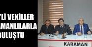CHP Karaman İl Başkanlığınca..