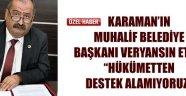 CHP'Lİ BELEDİYE DESTEK VERDİ..