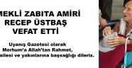 Emekli Zabıta Amiri..