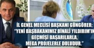 İL GENEL MECLİS BAŞKANINDAN TEBRİK..