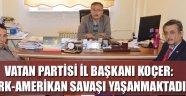 VATAN PARTİSİ'İNDEN ZİYARET