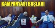 """""""1 KAN 1 FİDAN"""" KAMPANYASI BAŞLADI"""
