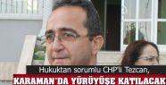 CHP GENEL BAŞKAN YARDIMCISI B.TEZCAN