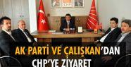 CHP'YE ZİYARET