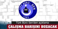 """""""YAPILAN AYRIM ÇALIŞMA BARIŞINI BOZACAKTIR"""""""