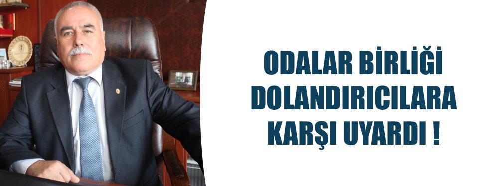 DOLANDIRICILARA DİKKAT !