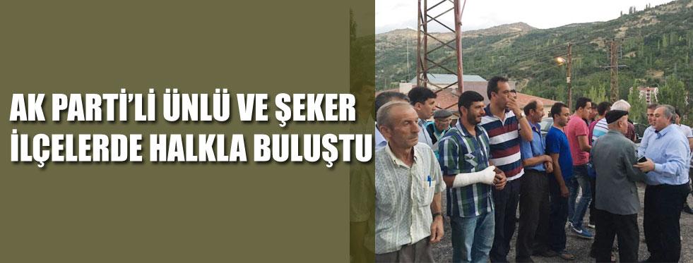 HALK ZİYARETLERİ..