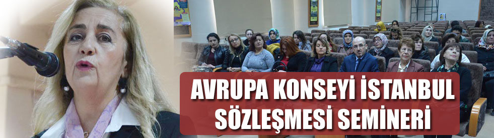 KARAMAN'DA KONFERANSI VERİLDİ
