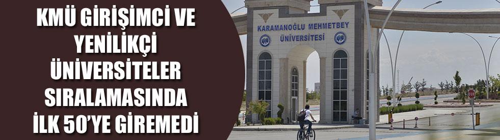 Yenilikçi Üniversite Endeksi