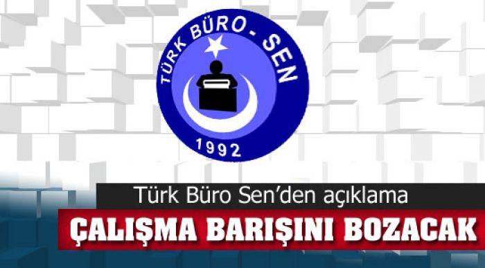 """""""YAPILAN AYRIM ÇALIŞMA BARIŞINI BOZACAKTIR"""