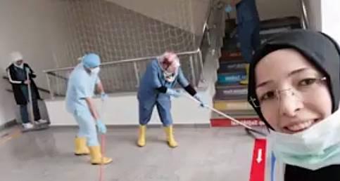 Karaman Devlet Hastanesi çalışanlarının Türkiye'ye mesajı