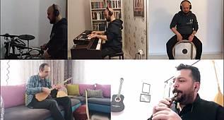 Karaman Güzel Sanatlar Lisesi öğretmenlerinden Türkülü Klip büyük beğeni topladı